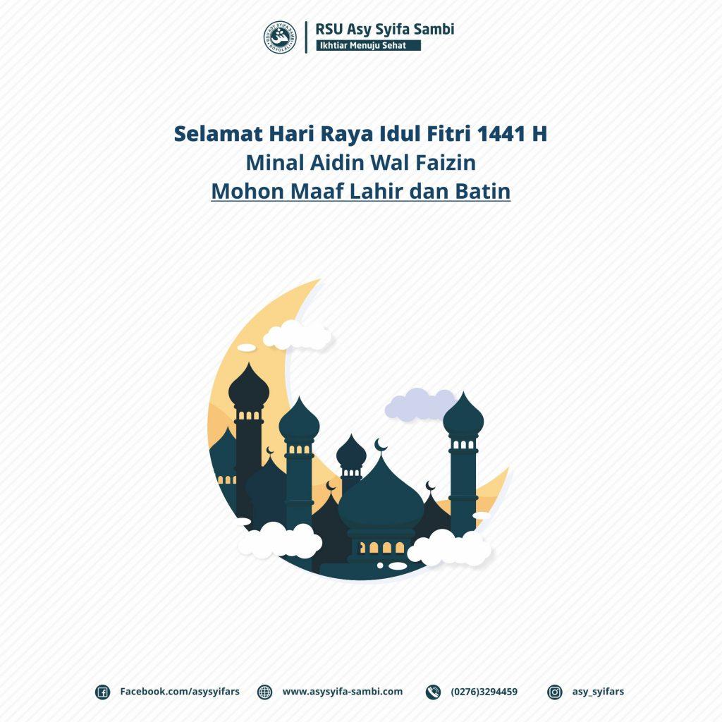Idul Fitri Asy Syifa Sambi